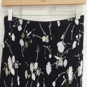 Dresses & Skirts - Long Floral Black Skirt